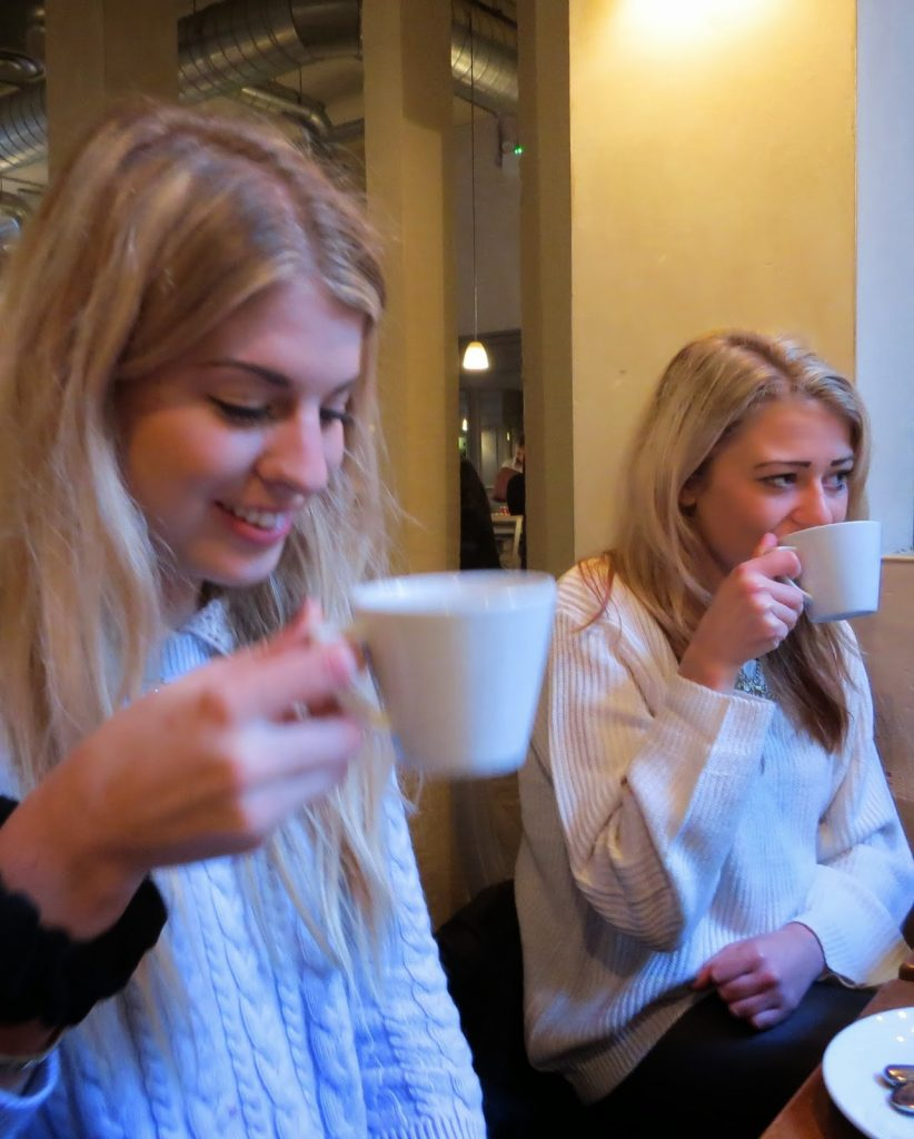 Lifestyle Enthusiast - Lunch Reunion at Aubaine - Drinking Hot Drinks