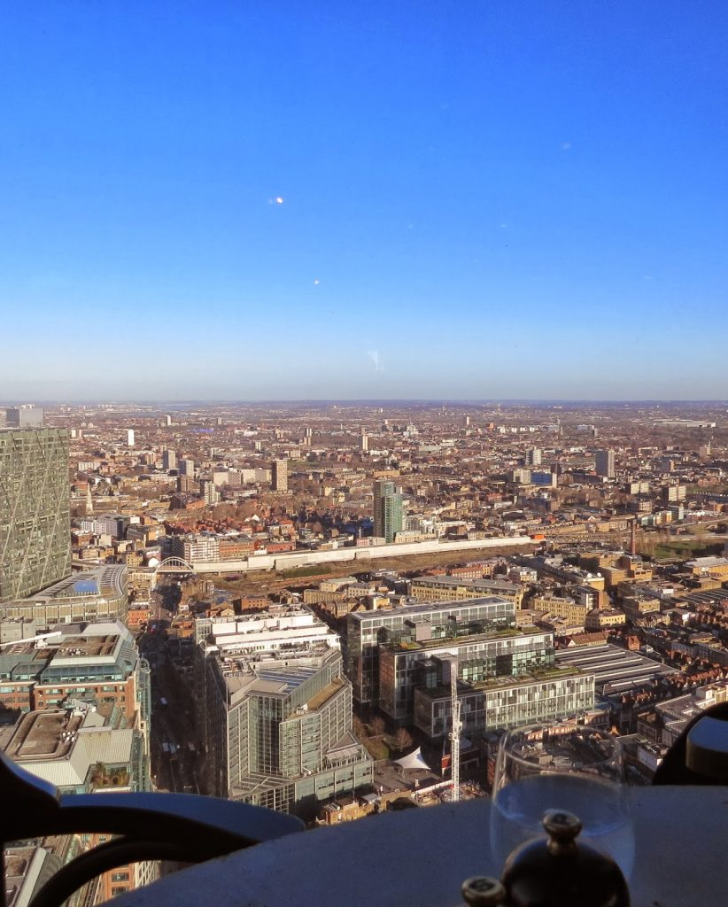 Lifestyle Enthusiast - Duck and Waffle, Heron Tower - London views