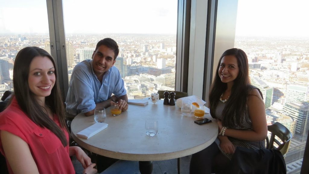 Lifestyle Enthusiast - Duck and Waffle, Heron Tower - Brunch date