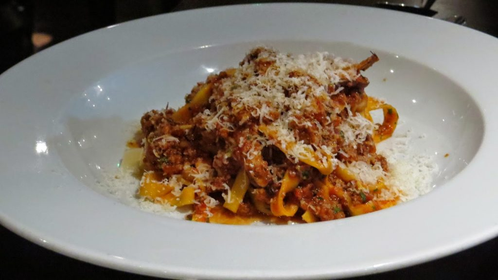 Lifestyle Enthusiast - Homemade Bolognesa dusted with parmegianno