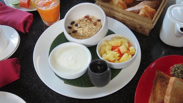 Lifestyle Enthusiast - Museli, fresh fruit and yogurt