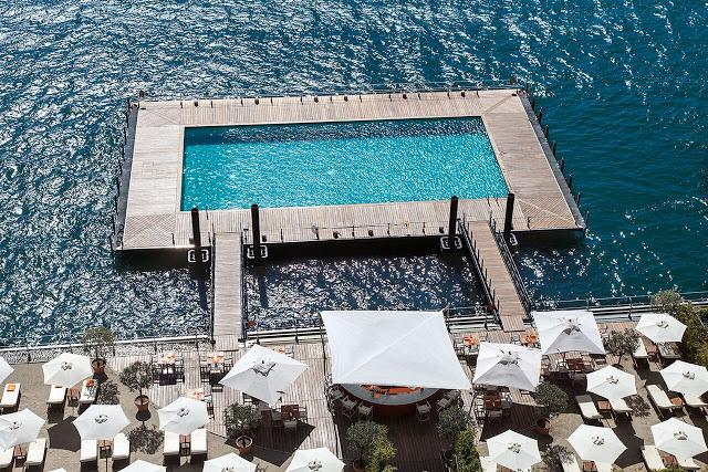 Lifestyle Enthusiast - Lake Como - Soaking up the sun on the private beach