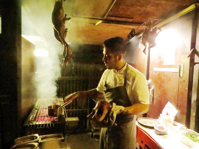 Lifestyle Enthusiast - Noma, Copenhagan - Chef preparing good food