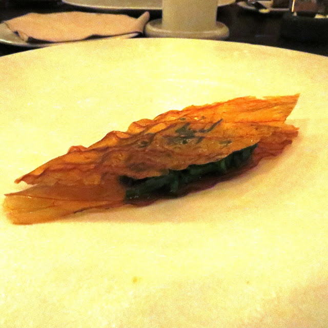 Lifestyle Enthusiast - Noma, Copenhagan - Crispy cabbage and shoots from the shore