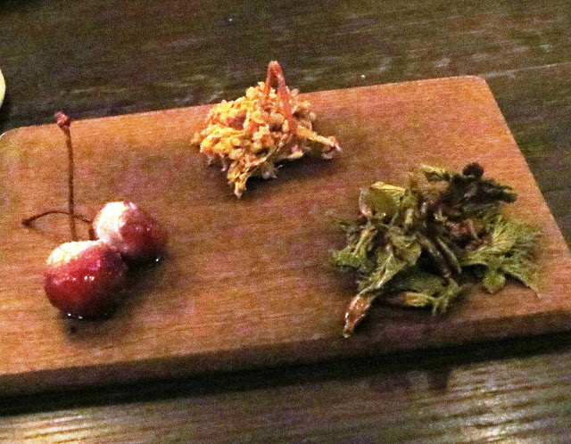 Lifestyle Enthusiast - Noma, Copenhagan - Berries and Greens soaked in vinegar for one day
