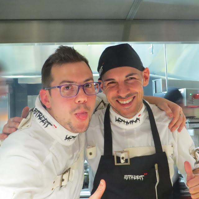 Lifestyle Enthusiast - StreetXO Chef's hard at work