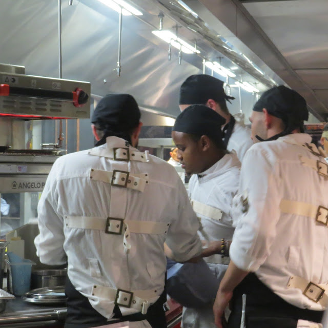 Lifestyle Enthusiast - StreetXO Chef's cooking in the kitchen