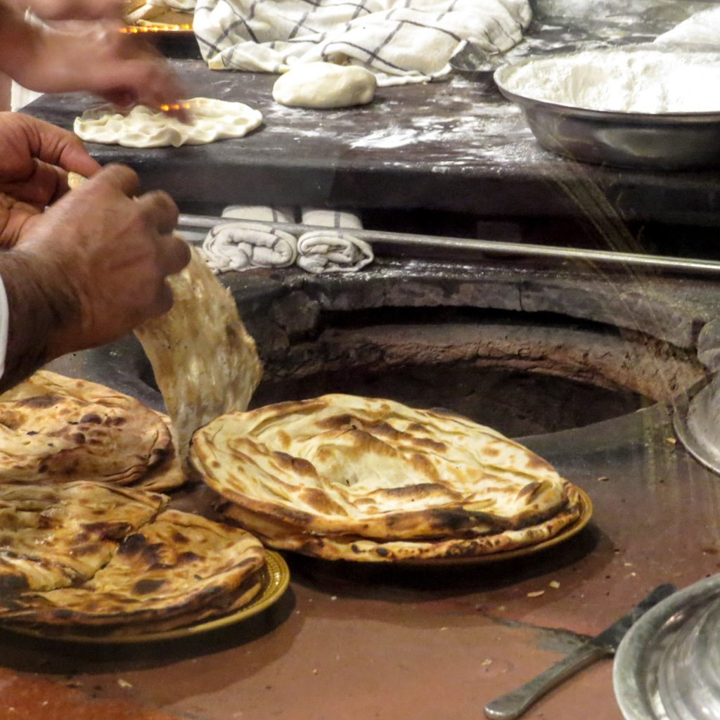 Lifestyle Enthusiast - Fresh naan bread at Bukhara