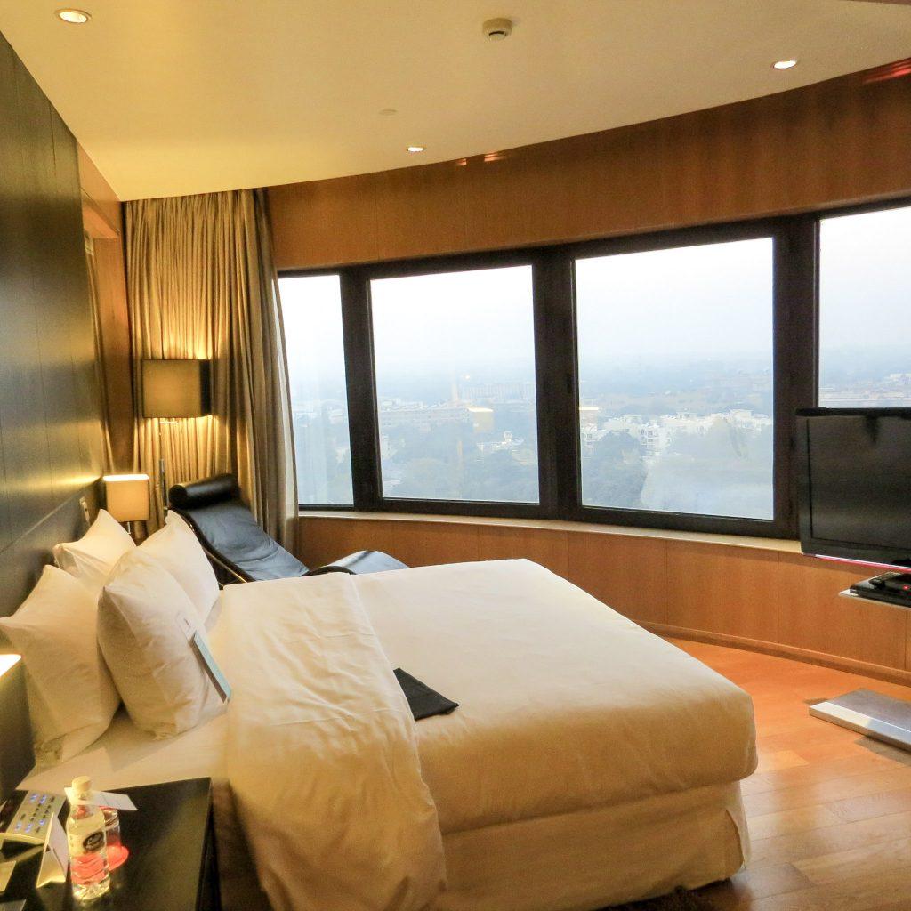 Lifestyle Enthusiast - Le Meridien Hotel New Delhi Suite Bedroom