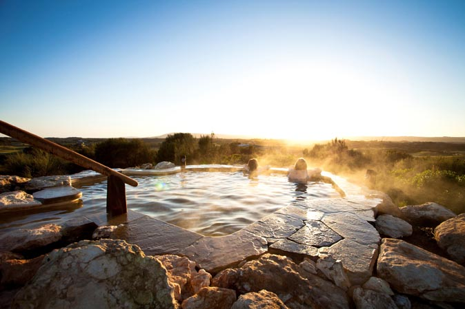 Peninsula Hot Springs - relaxation at hilltop