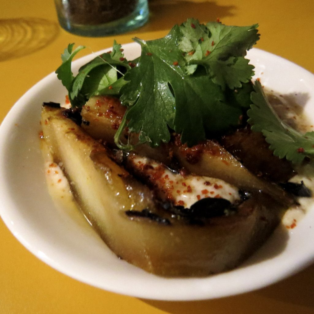 Honey & Smoke Charred Pears
