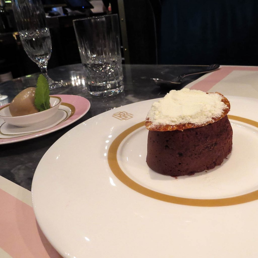 Lifestyle Enthusiast blog_ Bob Bob Ricard Chocolate Fondant and Hazelnut ice cream