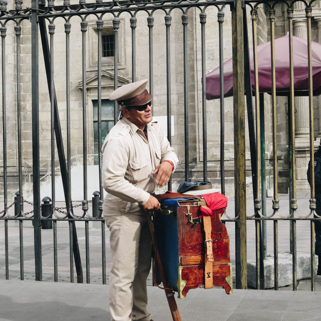 Musician on the street - Mexico City - Lifestyle Enthusiast