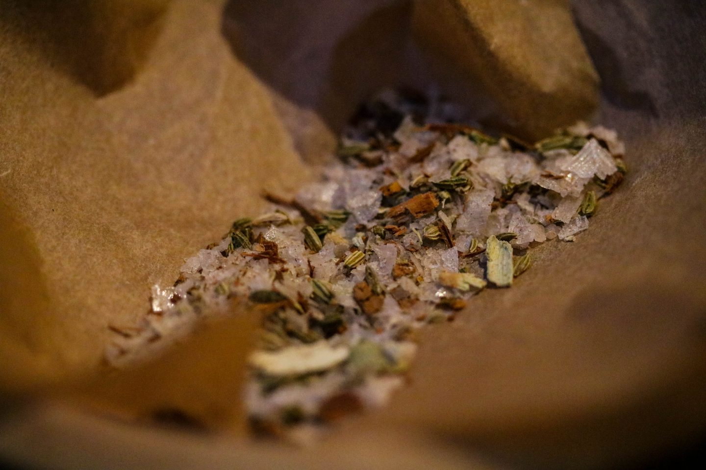 Cinnamon, fennel seed flakey salt_ Clove Club _ Lifestyle Enthusiast Blog Review