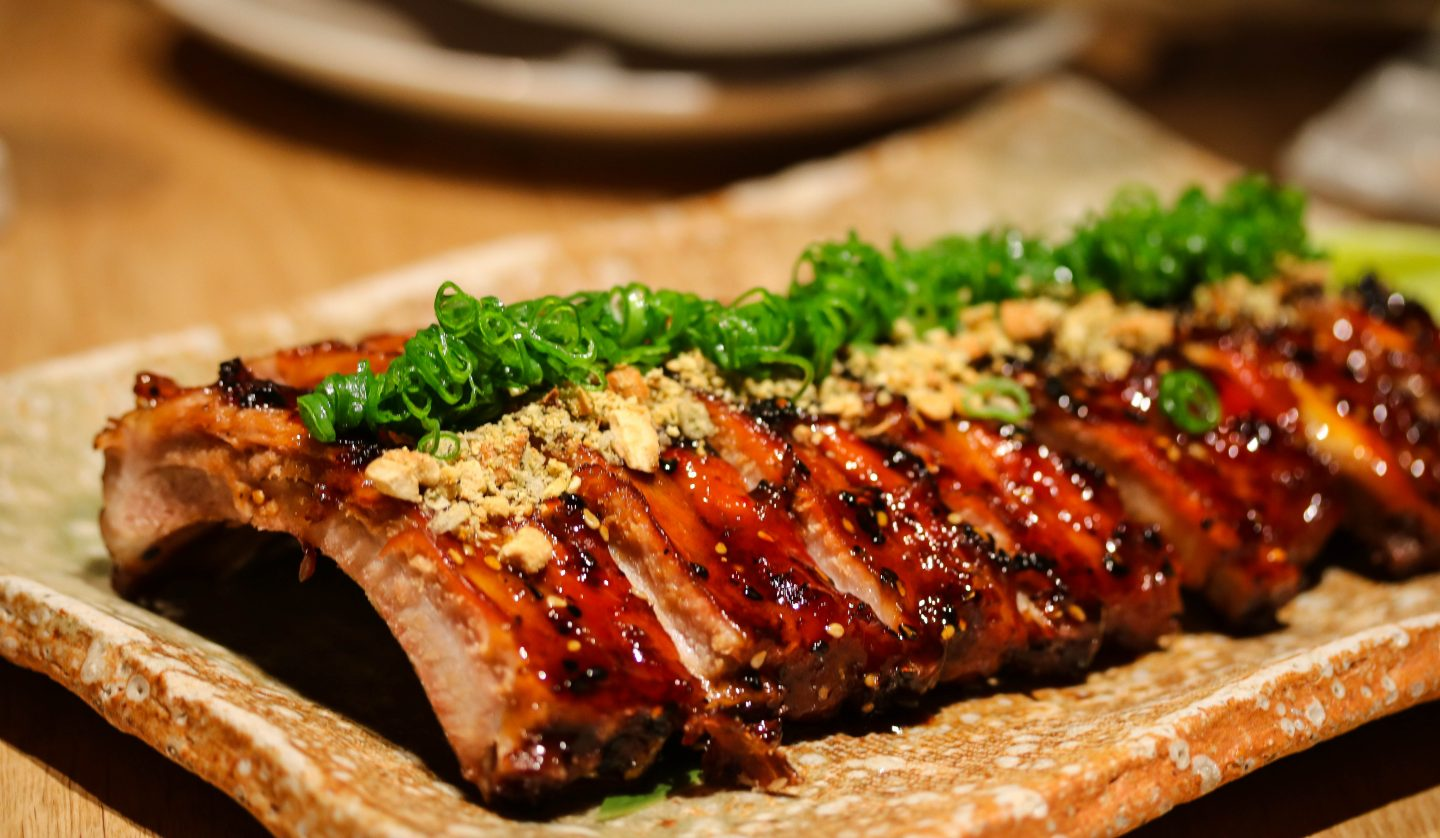 Roka Aldwych - Lifestyle Enthusiast Blog - What to order at Roka - Glazed pork ribs with cashew nuts