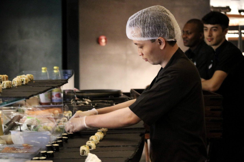 Dinner at Zengo Le Royal Meridien Dubai Sushi Chefs - Lifestyle Enthusiast blog