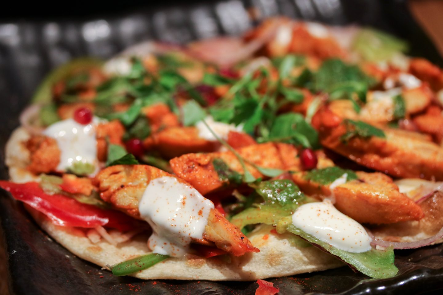 Chicken Tikka Naan Roll at Chai Ki, Canary Wharf - Lifestyle Enthusiast Blog Recovery Brunch Review