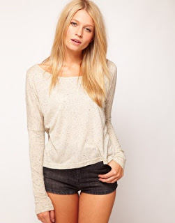 Lifestyle Enthusiast - Asos Crop with long sleeves by Ecru