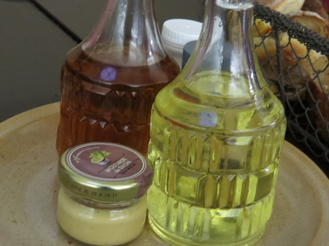 Lifestyle Enthusiast Paris - La Madeleine Church Lunch - Vinegar, Oil and Mayonnaise