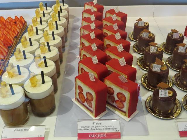 Lifestyle Enthusiast - Desserts at Fauchon, Paris
