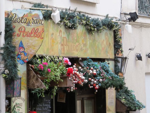Lifestyle Enthusiast - Restaurant Le Poulbot, Montmartre in Paris