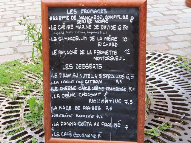 Lifestyle Enthusiast - Menu at Les trois garçons, Paris
