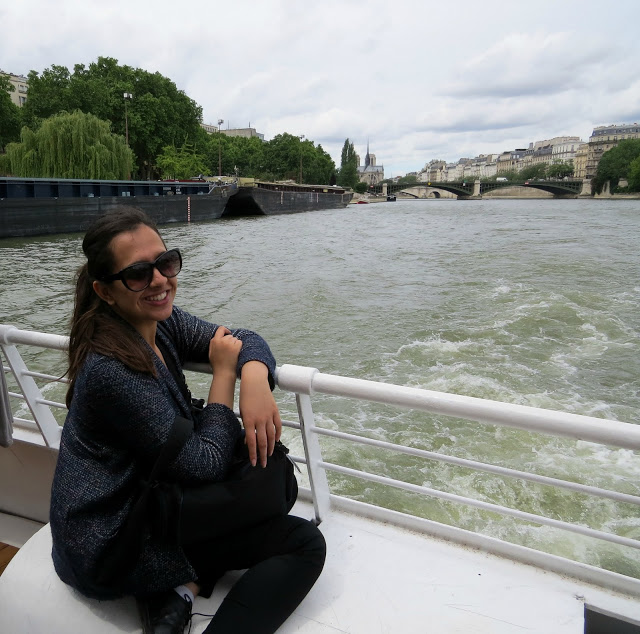Lifestyle Enthusiast - River Cruise with views of Bridge in Paris