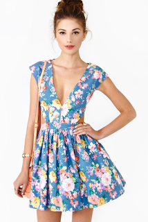 Lifestyle Enthusiast - Fresh Cut Dress in Chambray bu Nasty Gal