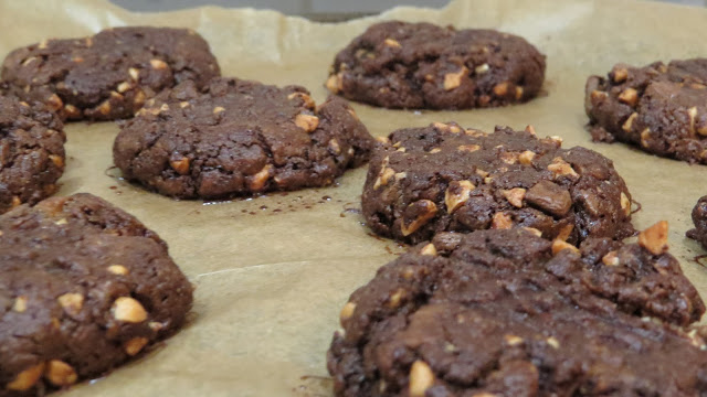 Lifestyle Enthusiast - Chocolate chunk cookies straight out of oven