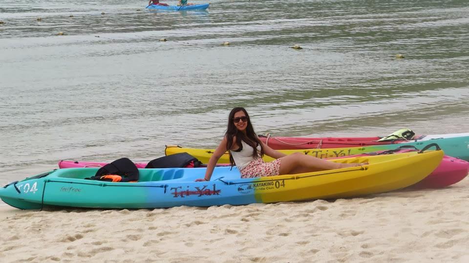 Lifestyle Enthusiast - Kayaking in Thailand