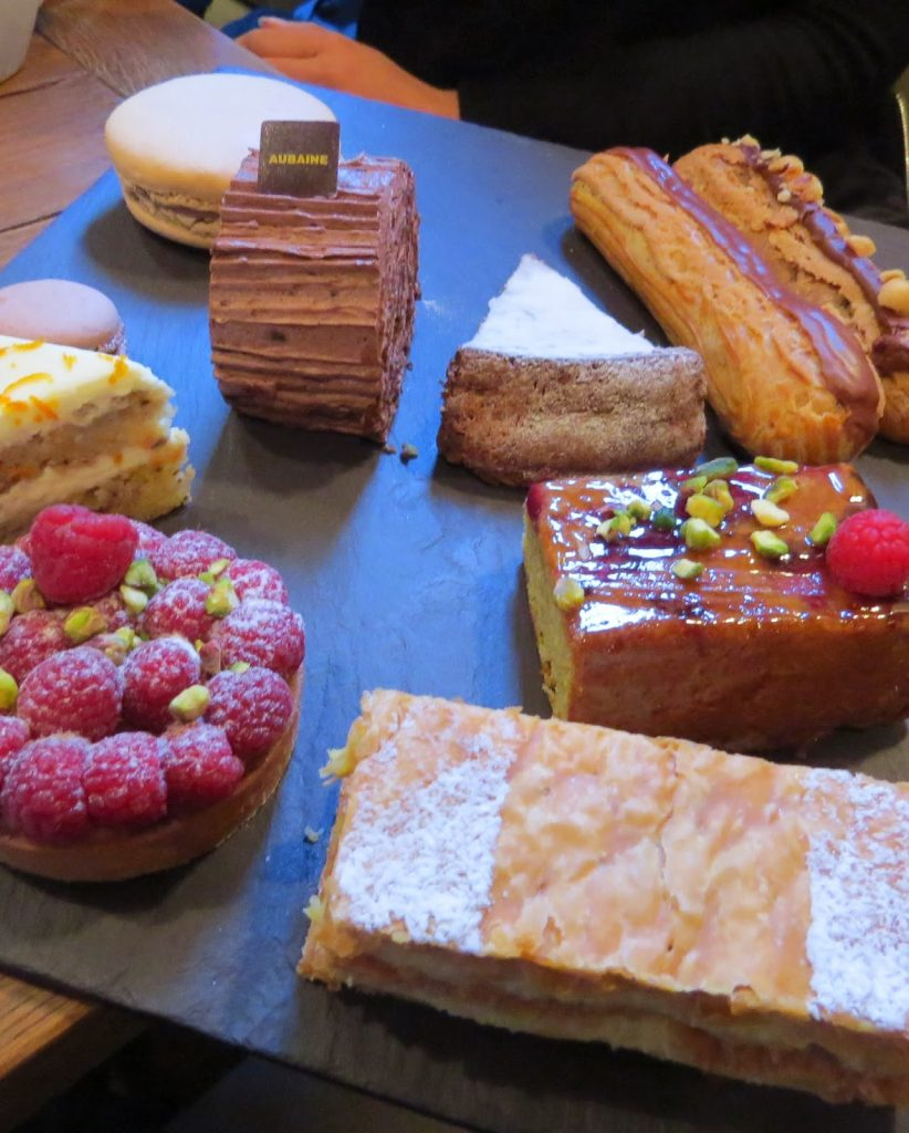 Lifestyle Enthusiast - Lunch Reunion at Aubaine - Gorgeous selection of pastries and tarts