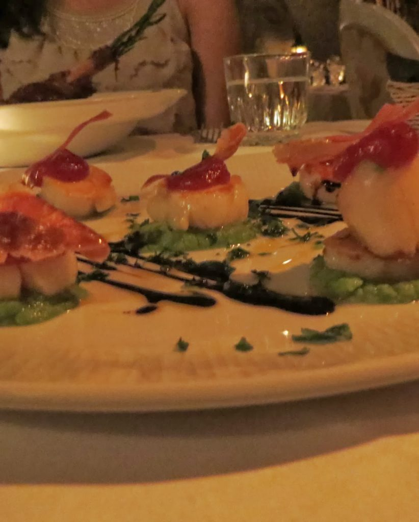 Lifestyle Enthusiast - Beach Blanket Babylon, Notting Hill - Pan Seared Scallops with Crispy Parma Ham