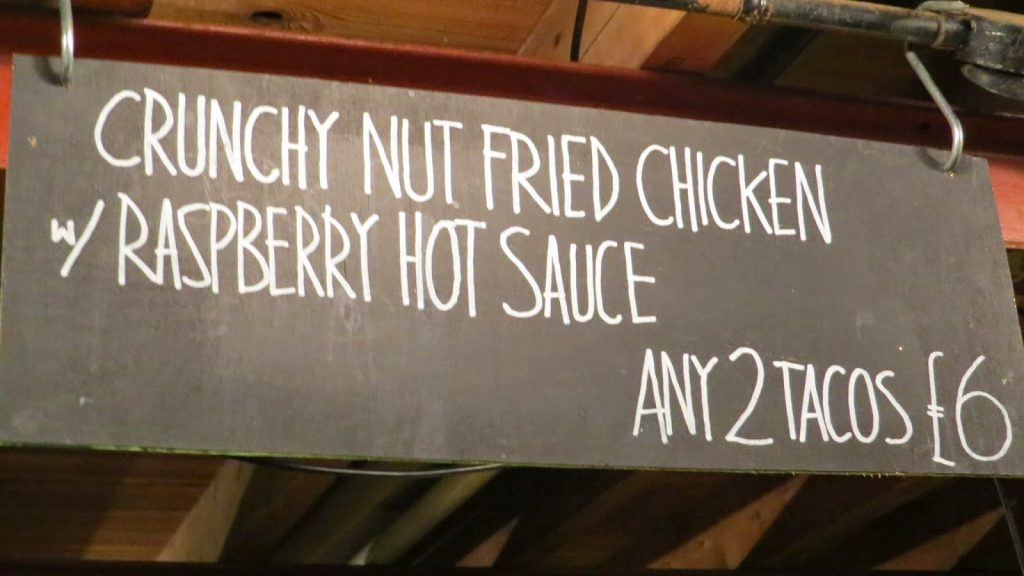 Lifestyle Enthusiast - Streat Feast - Crunchy Nut Fried Chicken and Raspberry Hot Sauce