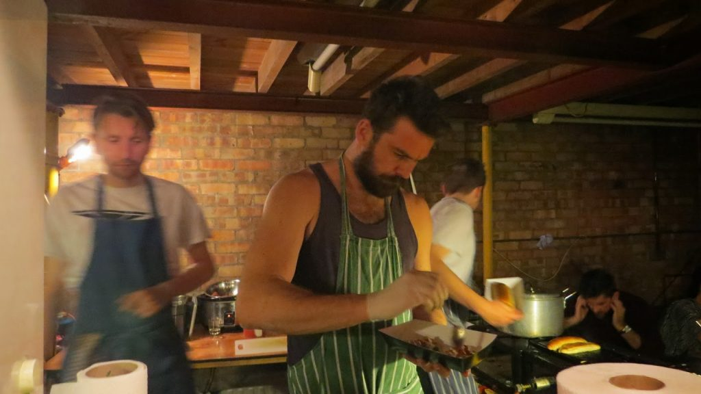 Lifestyle Enthusiast - Streat Feast - Food preperation in action