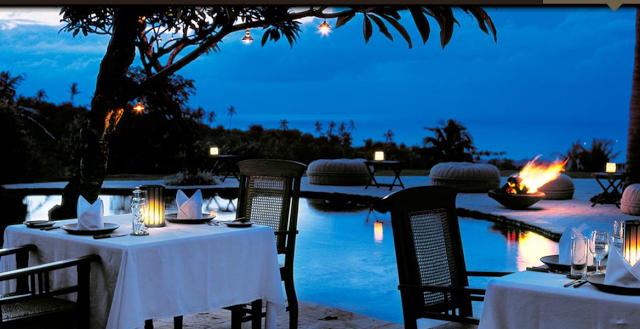 Lifestyle Enthusiast - The Damai, Lovina, Bali - Dining out by the pool