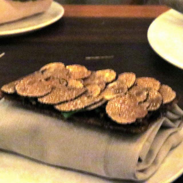 Lifestyle Enthusiast - Noma, Copenhagan - truffle flatbread