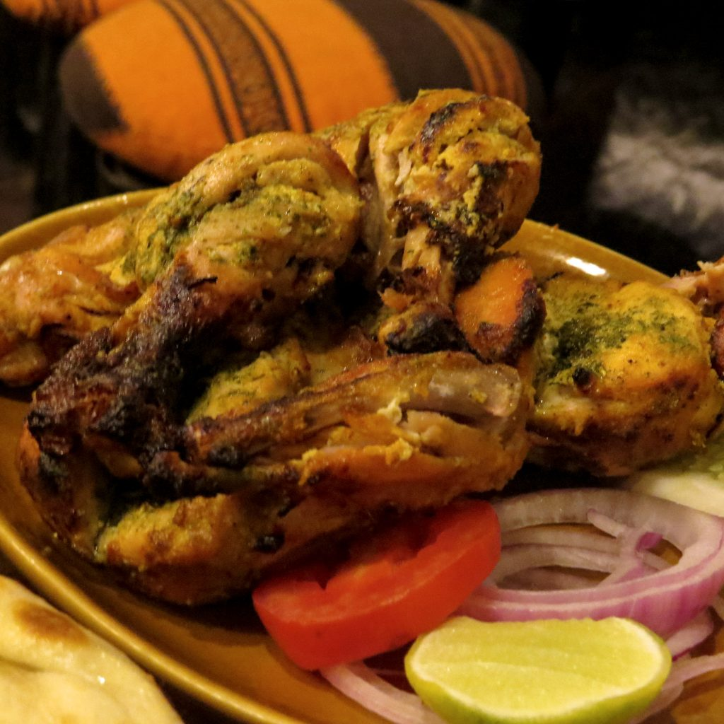 Lifestyle Enthusiast - Tandoori chicken at Bukhara