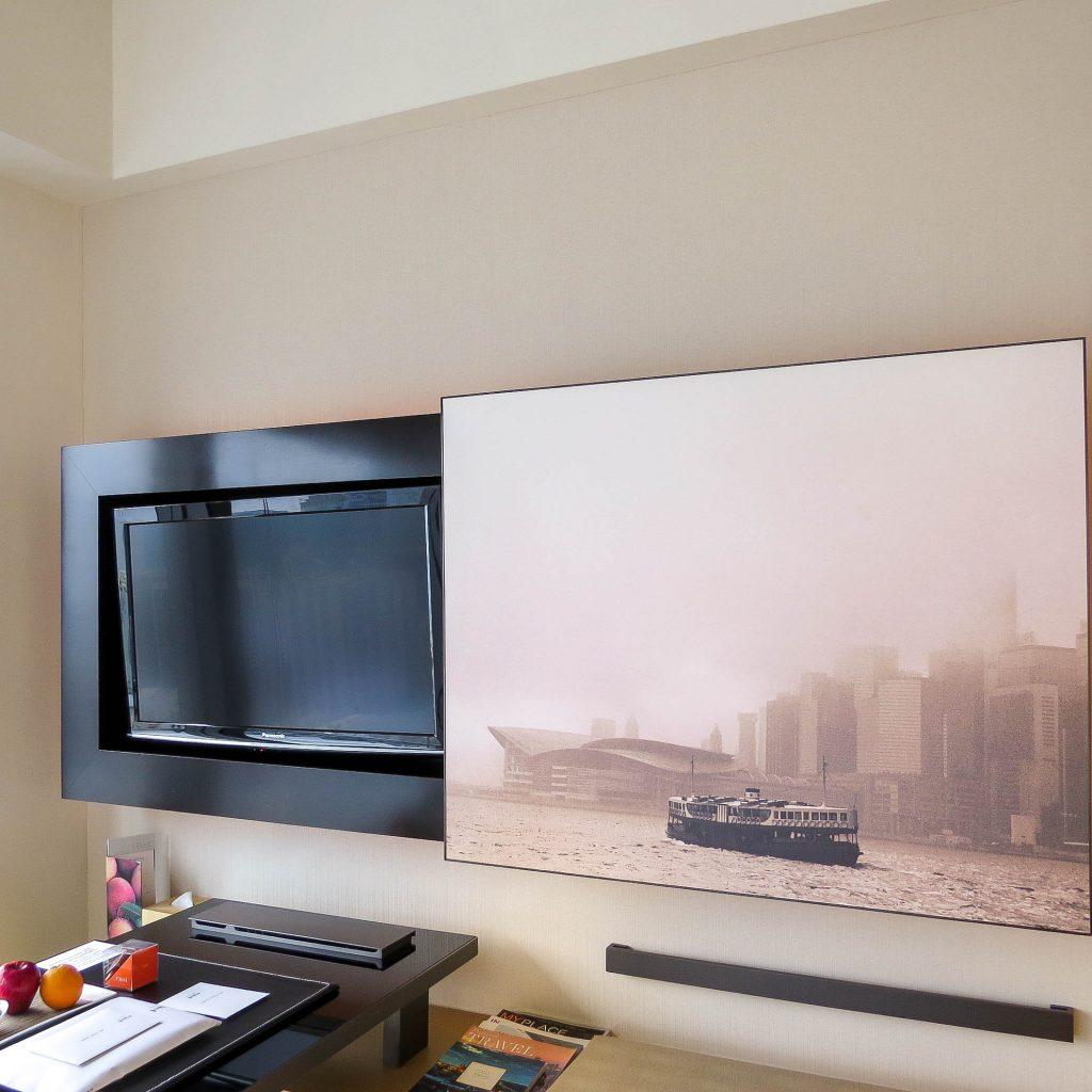 Lifestyle Enthusiast - East Hotel Hong Kong - Desk TV