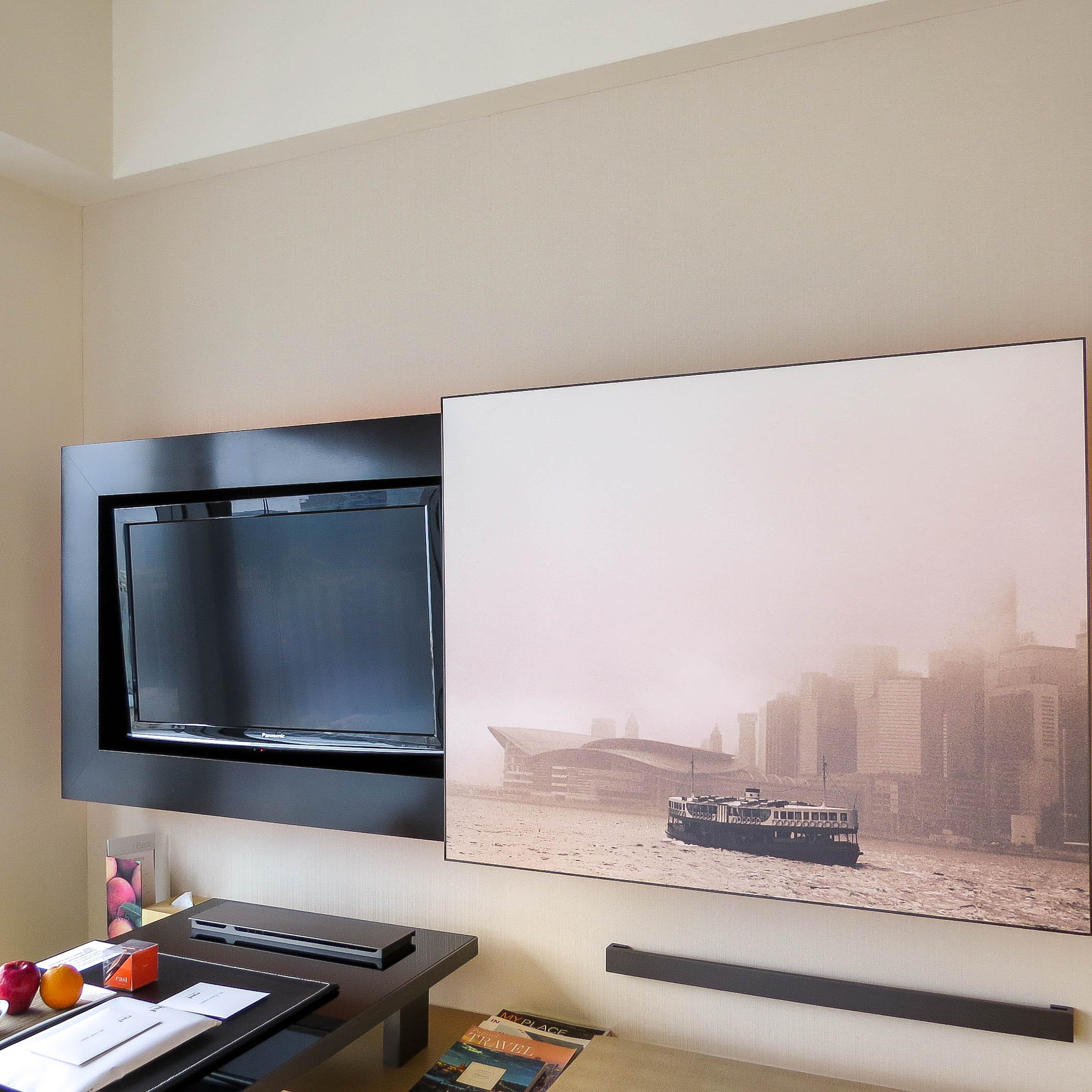 Business hotel in hong kong east hotel - Lifestyle Enthusiast East Hotel Hong Kong Desk Tv