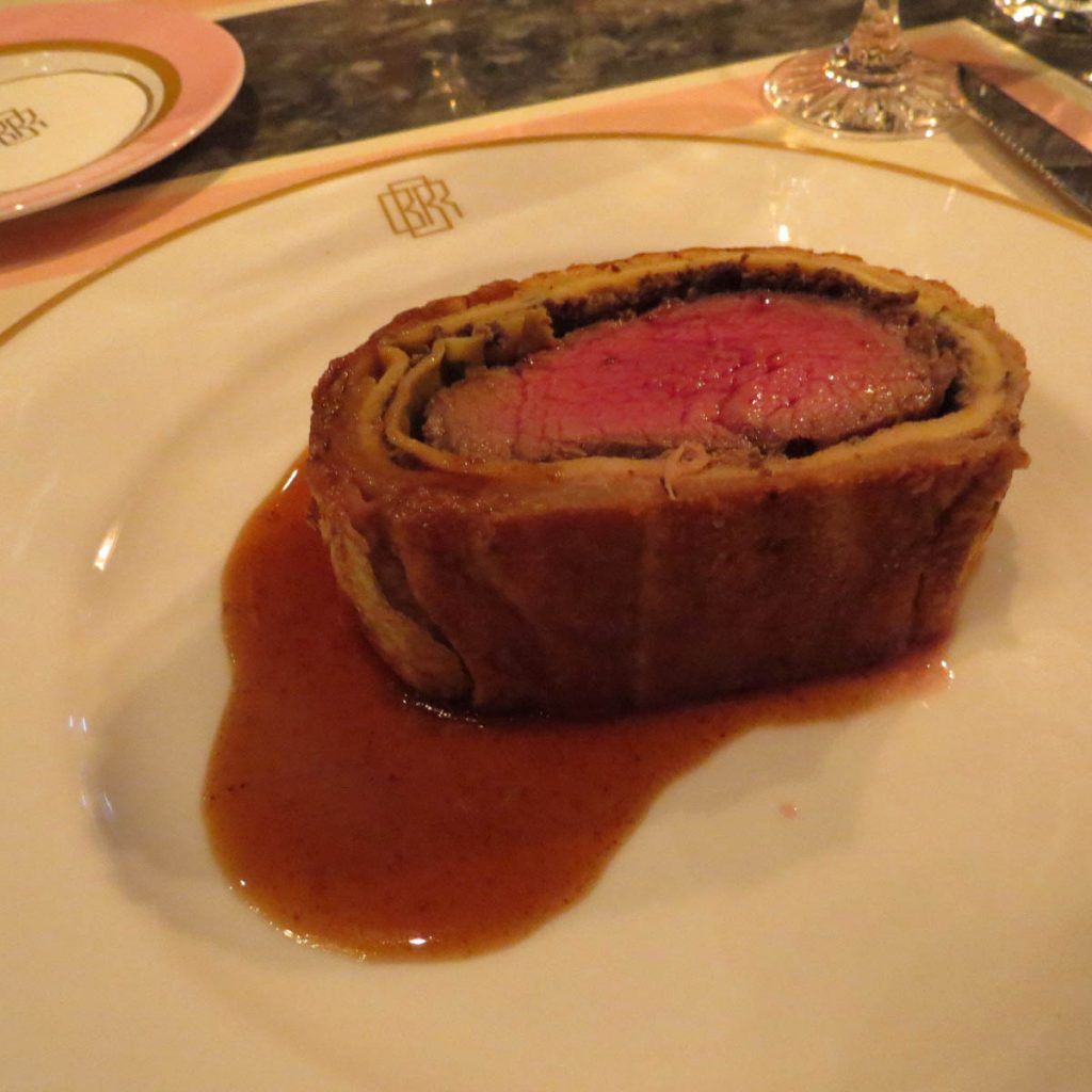 Lifestyle Enthusiast blog_ Bob Bob Ricard Sliced Wellington with Gravy