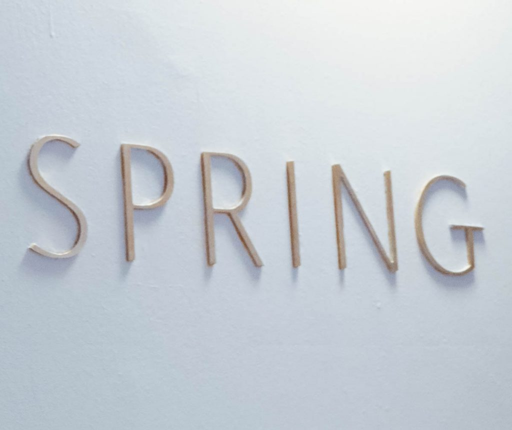 Lifestyle Enthusiast - Spring at Somerset House Sign