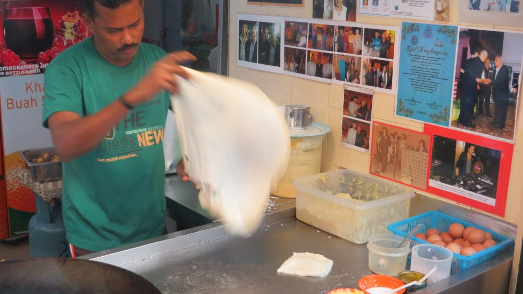 48 Hours in Kuala Lumpur (KL)_ Roti Canai being made_ Lifestyle Enthusiast