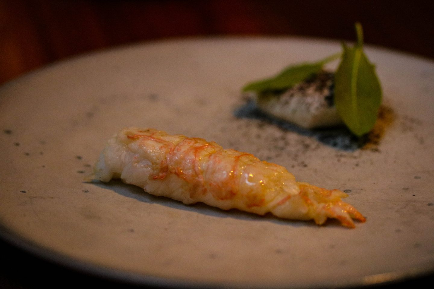 Langoustine Tail _ Clove Club _ Lifestyle Enthusiast Blog Review