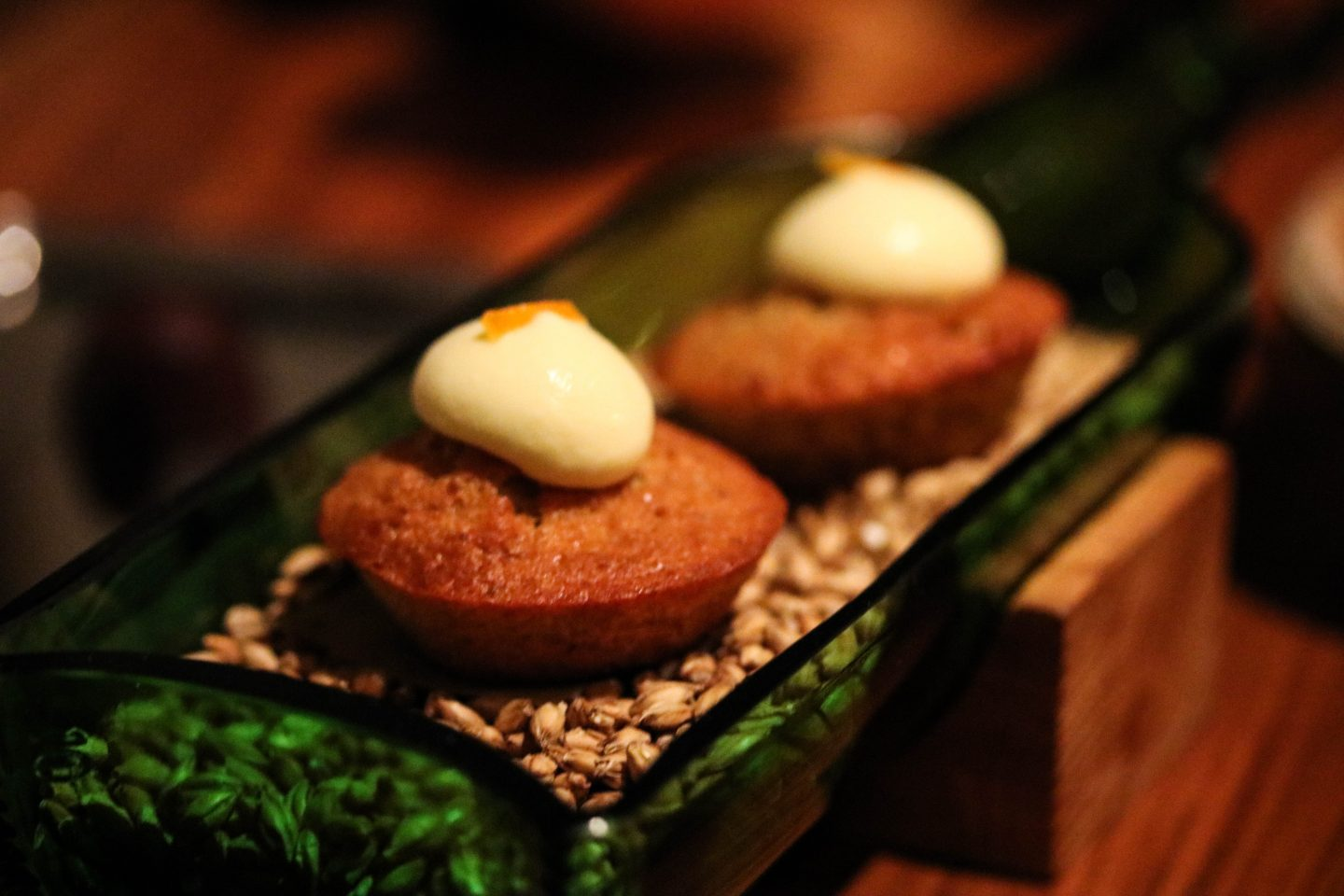 Barley Cake with Marmalade Cream _ Clove Club _ Lifestyle Enthusiast Blog Review