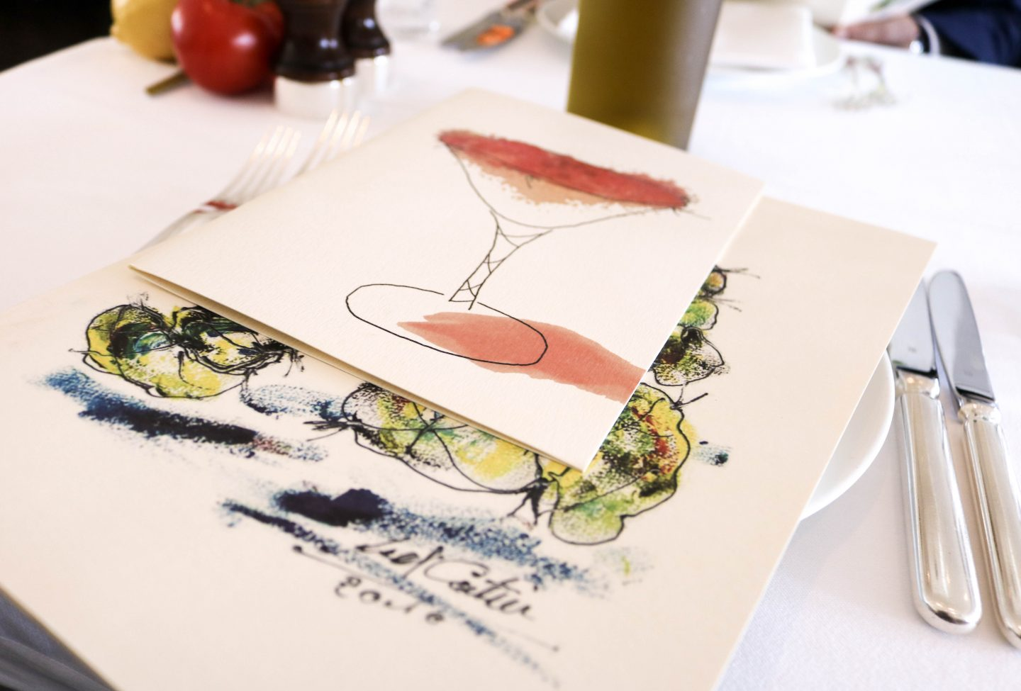 Menu at La Petite Maison, the best restaurant for lunch in Dubai on the Lifestyle Enthusiast blog