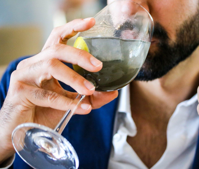 Limonade Noire at La Petite Maison, the best restaurant for lunch in Dubai on the Lifestyle Enthusiast blog