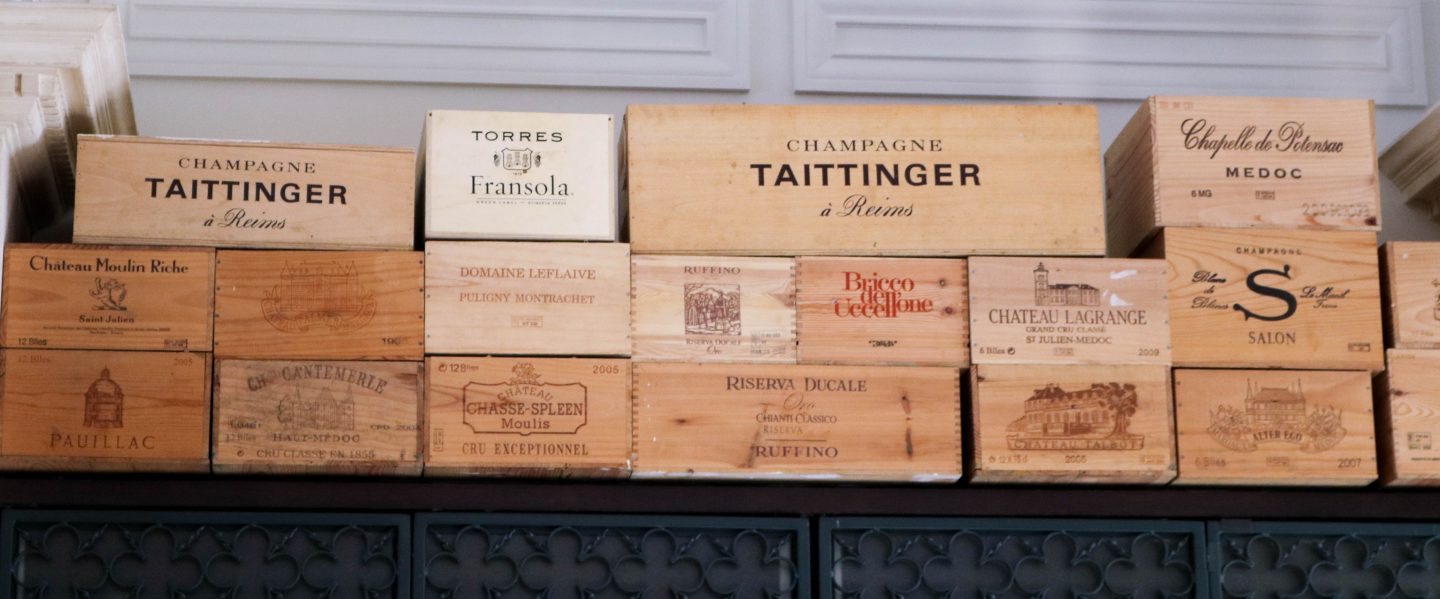 La Petite Maison champagne boxes - best restaurant for lunch in Dubai on the Lifestyle Enthusiast blog