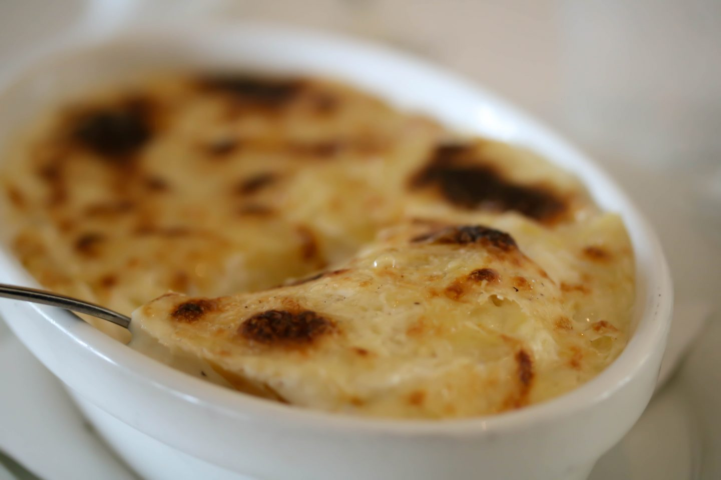 Potato Dauphinoise at La Petite Maison, the best restaurant for lunch in Dubai on the Lifestyle Enthusiast blog