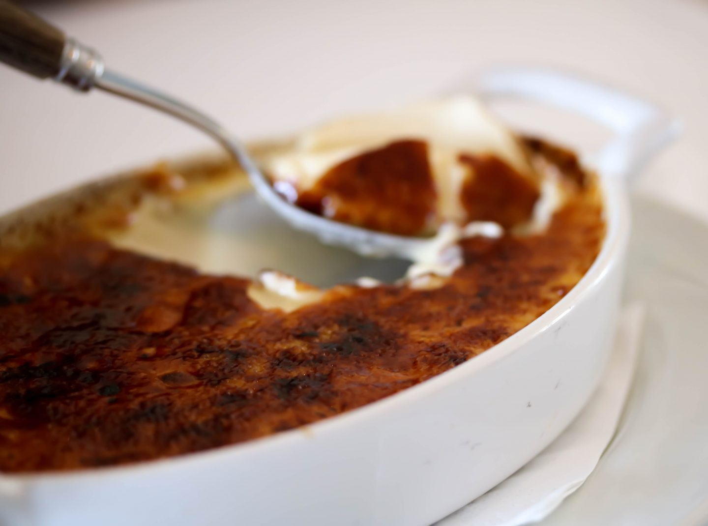 Creme Brulee at La Petite Maison, the best restaurant for lunch in Dubai on the Lifestyle Enthusiast blog