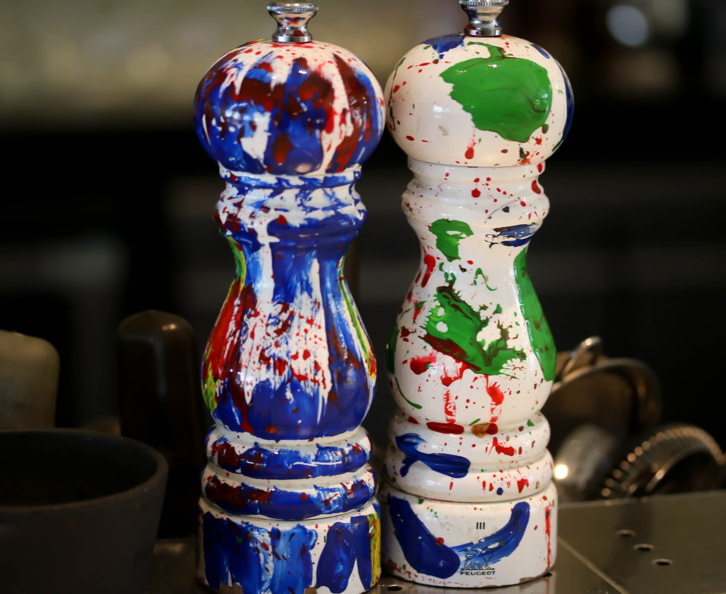 La Petite Maison - salt and pepper mills - best restaurant for lunch in Dubai on the Lifestyle Enthusiast blog